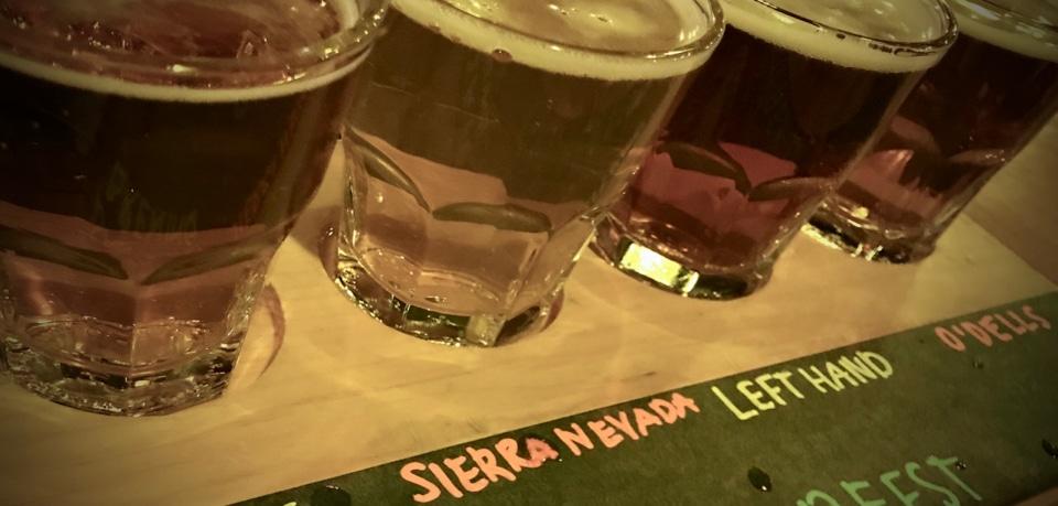 Enjoy your Oktoberfest 4-beer tasting